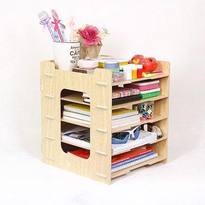Kệ gỗ - Tủ sách